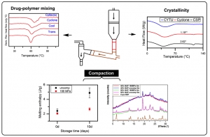 Influence of Compression forces on the Physical and Structural Stability of Solid Dispersions
